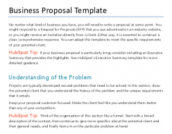 Free Business Proposal Template For Pdf Word Hubspot