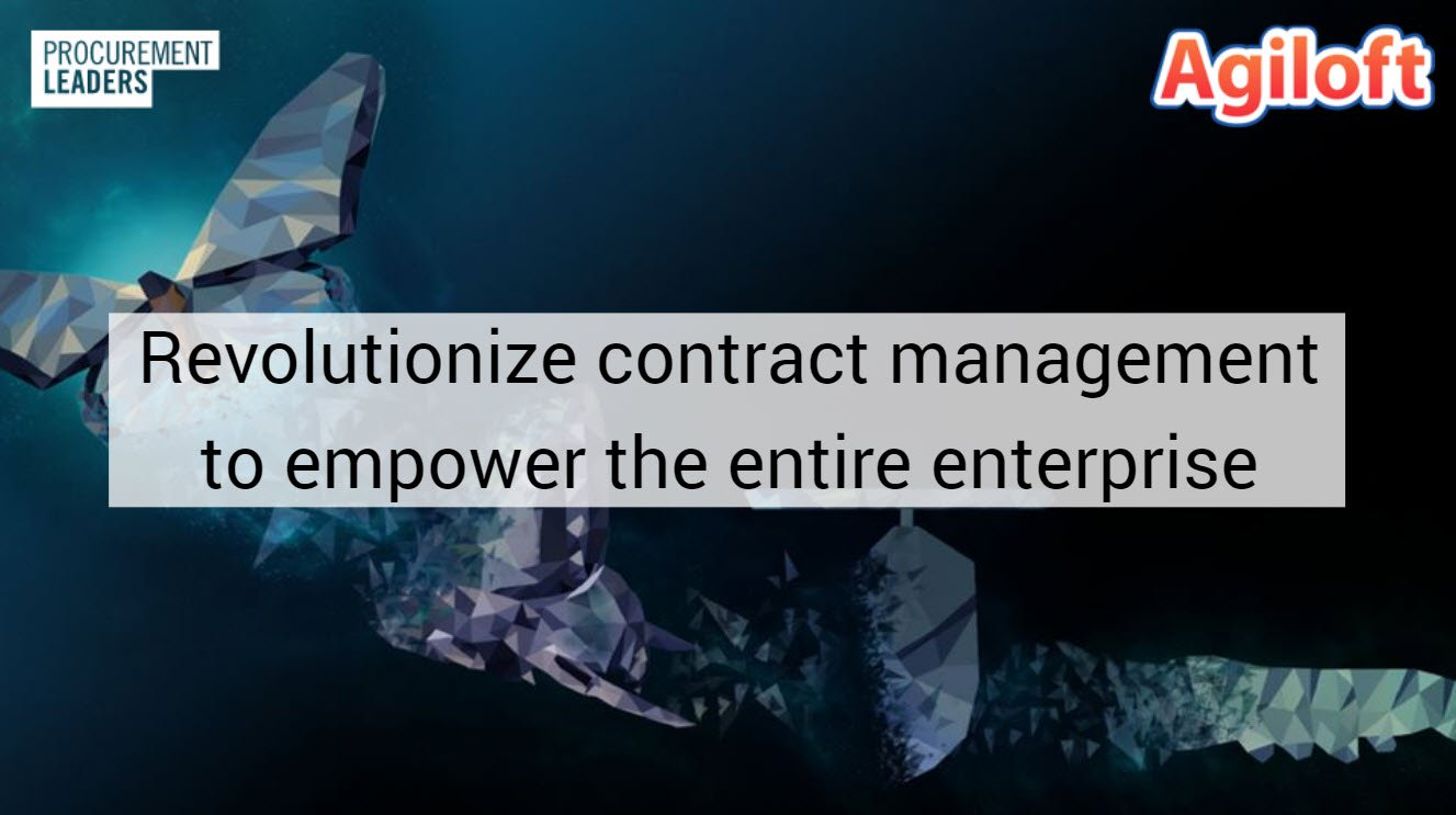 Revolutionize contract management to empower the entire enterprise webinar title page