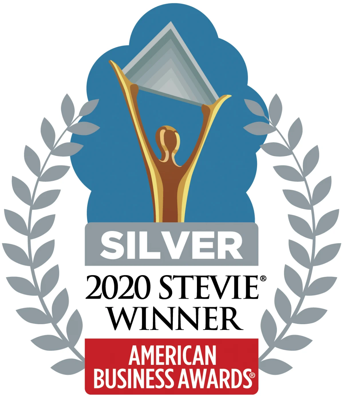 2020 Silver Stevie Award for American Business Awards