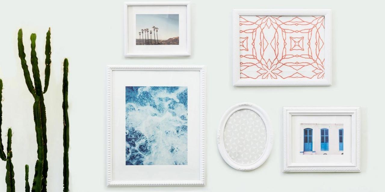 diy-gallery-wall-with-repurposed-vintage-frames
