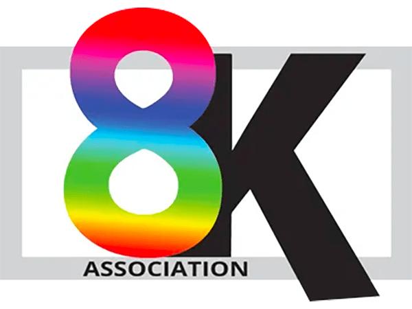 Logo for 8K Association