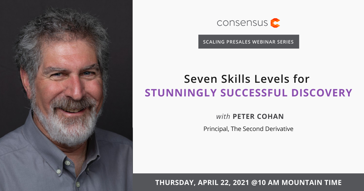 Webinar- Seven Skill Levels for Stunningly Successful Discovery