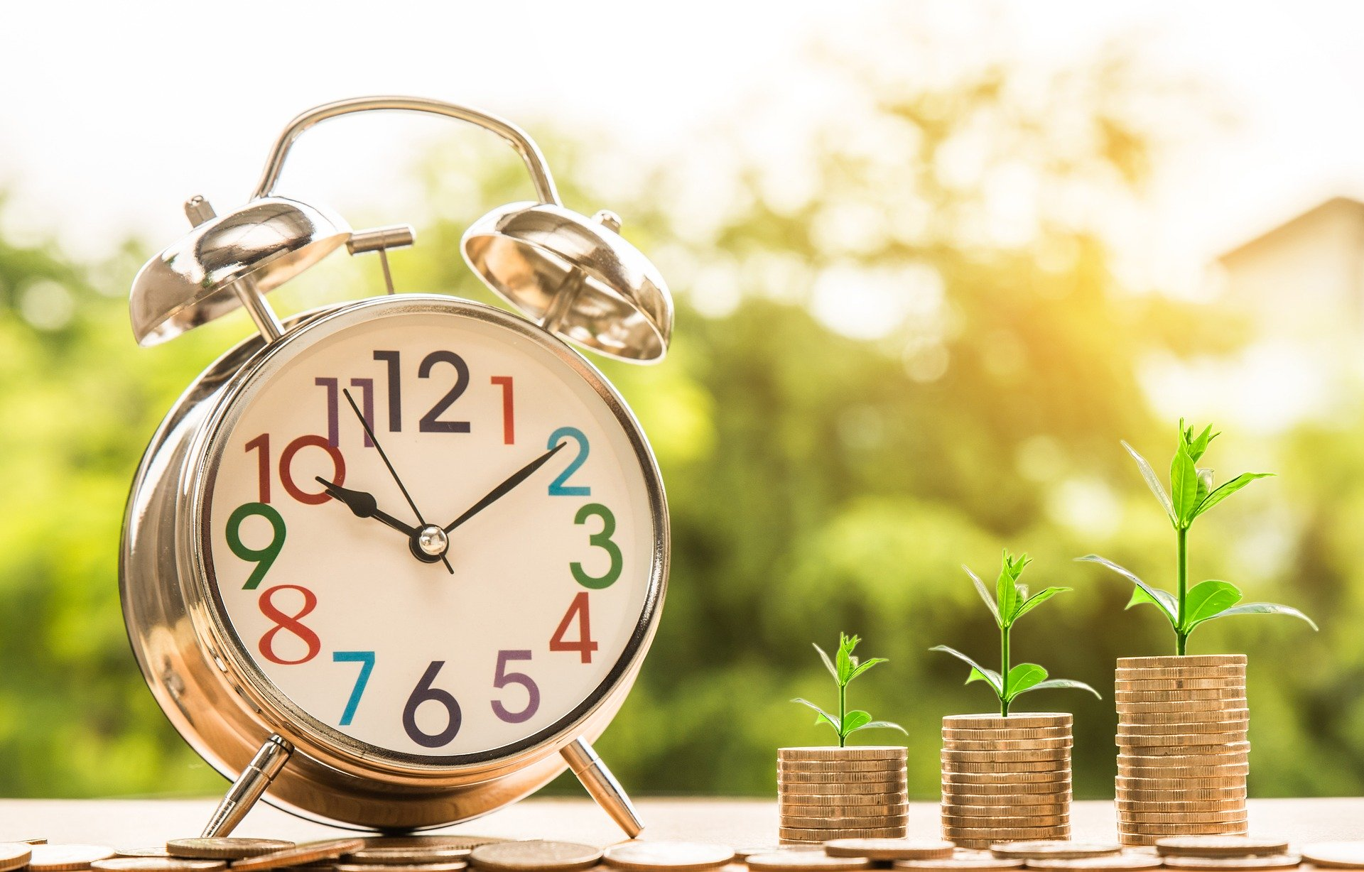 debt-payment-due-clock-ticking-time-runing-out-money