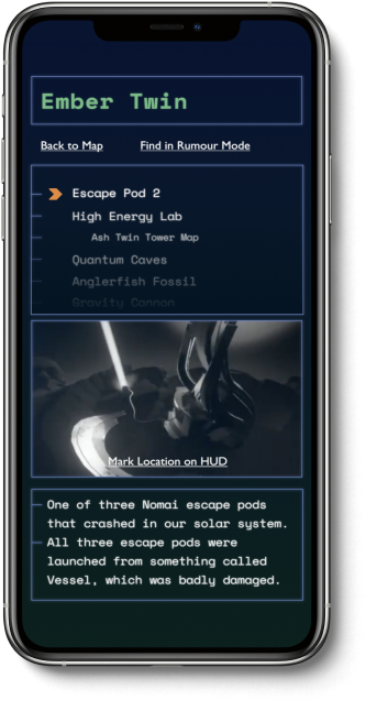 A mockup showing the theoretical RSLT app