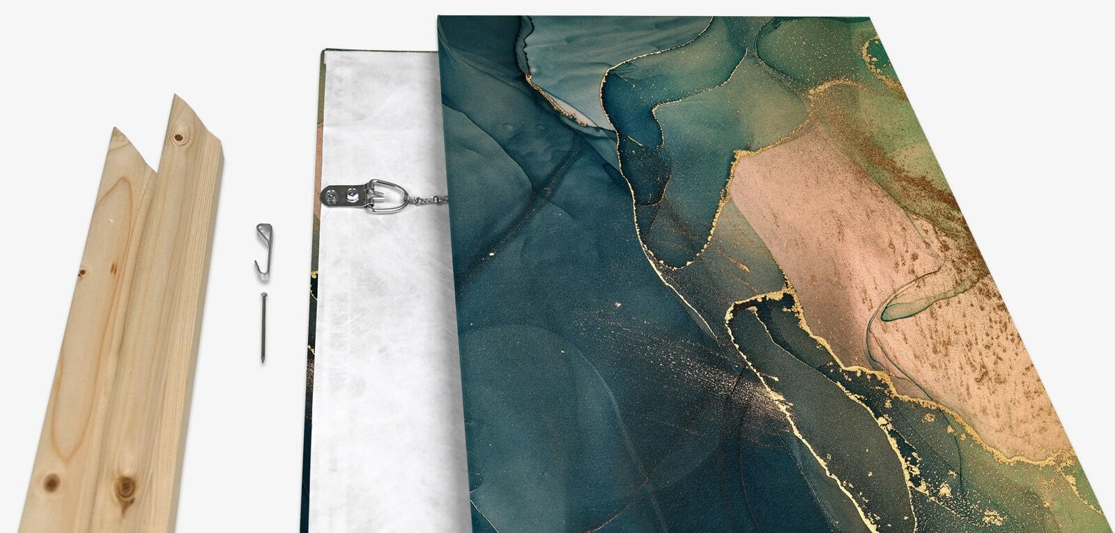 Traditional-Stretched Canvas Prints Details