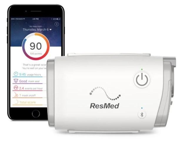 AirMini CPAP Machine and Phone App