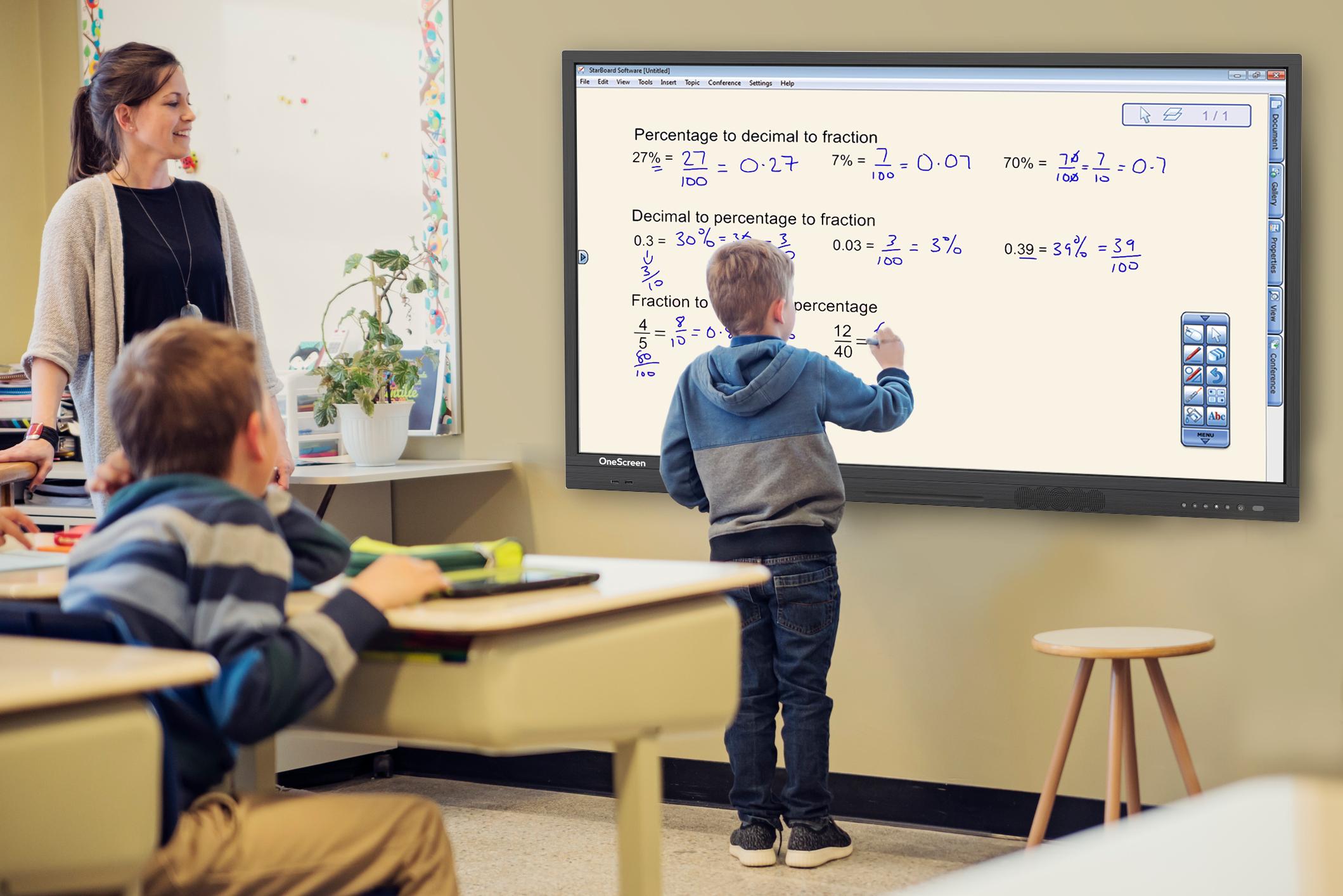 TouchScreen-Education