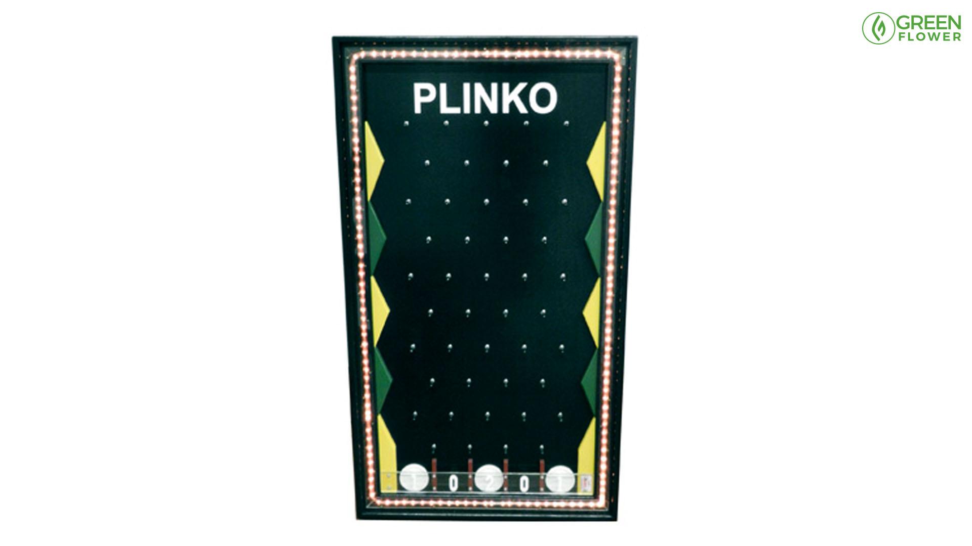 plinko game table with lights