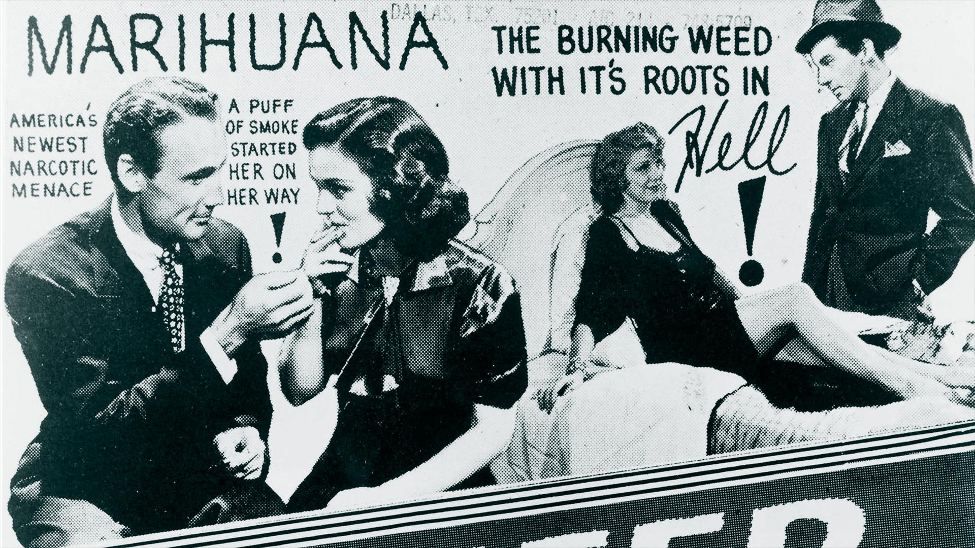 1930s couples smoking marijuana