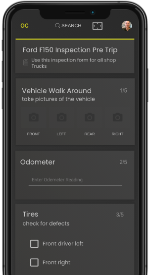 with the mobile operator companion your DVIR vehicle safety inspections will be done correctly