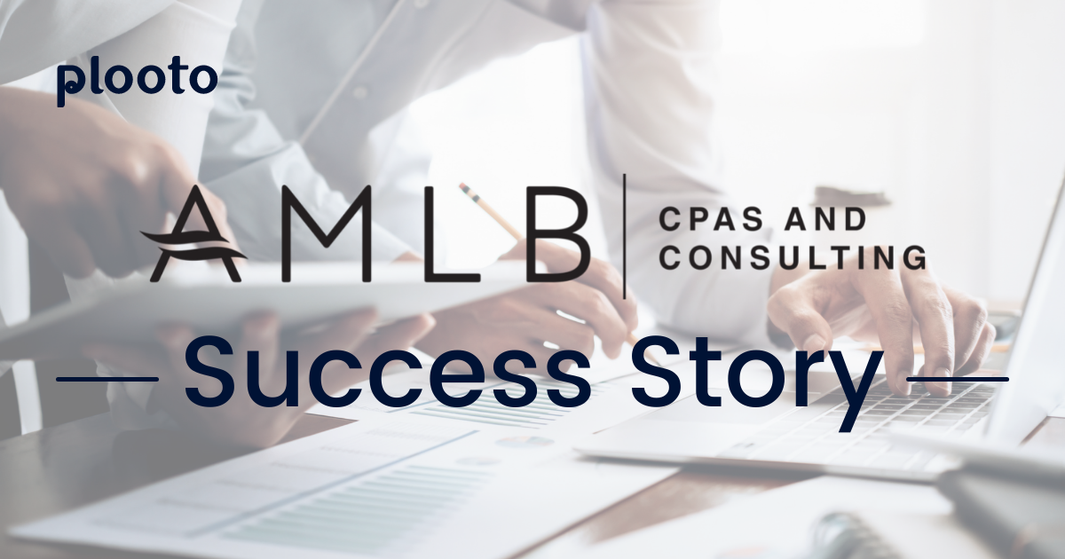 AMLB CPAs and Consulting and their Clients Saves 3+ hours with Plooto