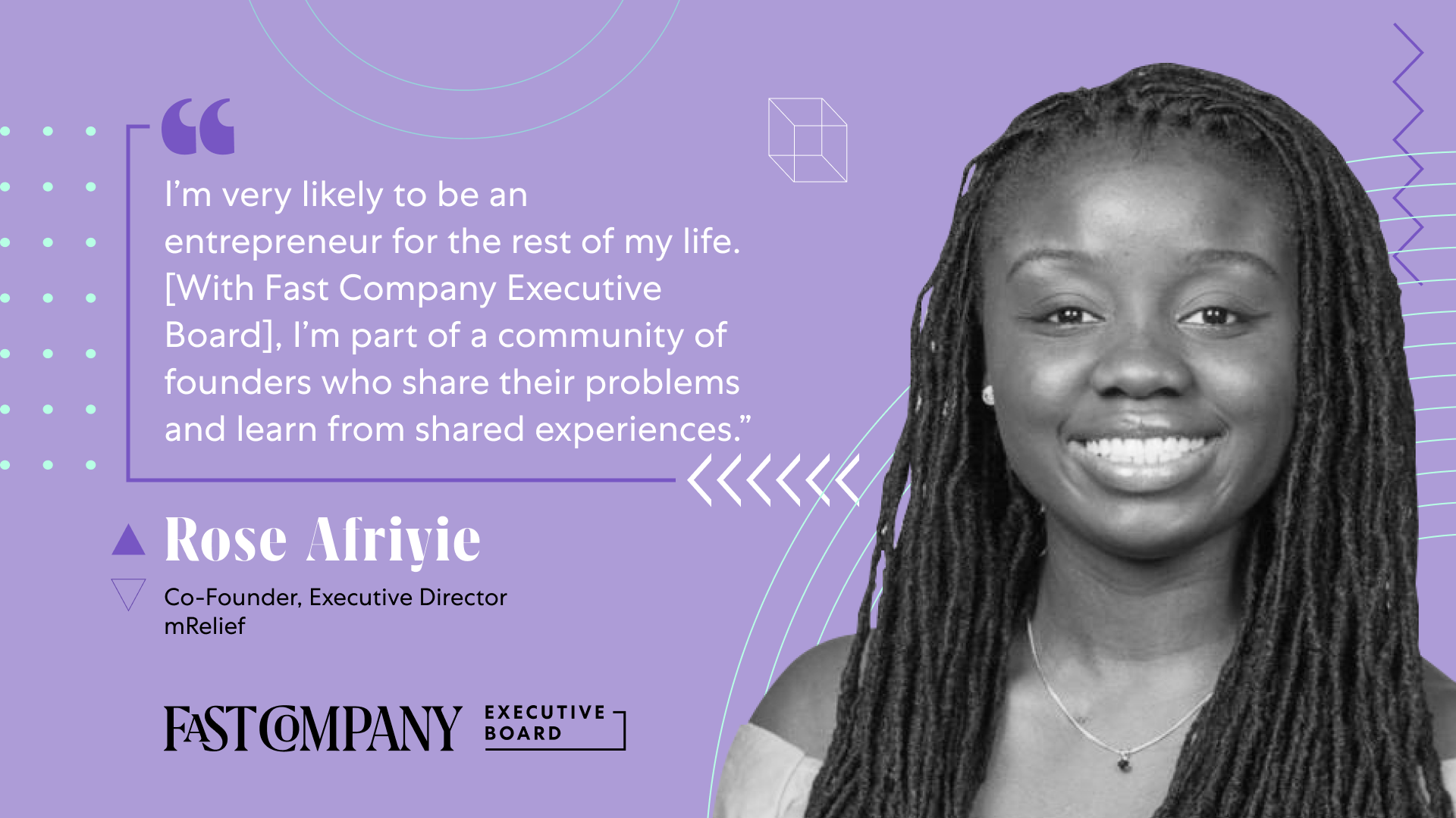 Through Fast Company Executive Board, Rose Afriyie Will Share Insights on Scaling a Diverse Organization