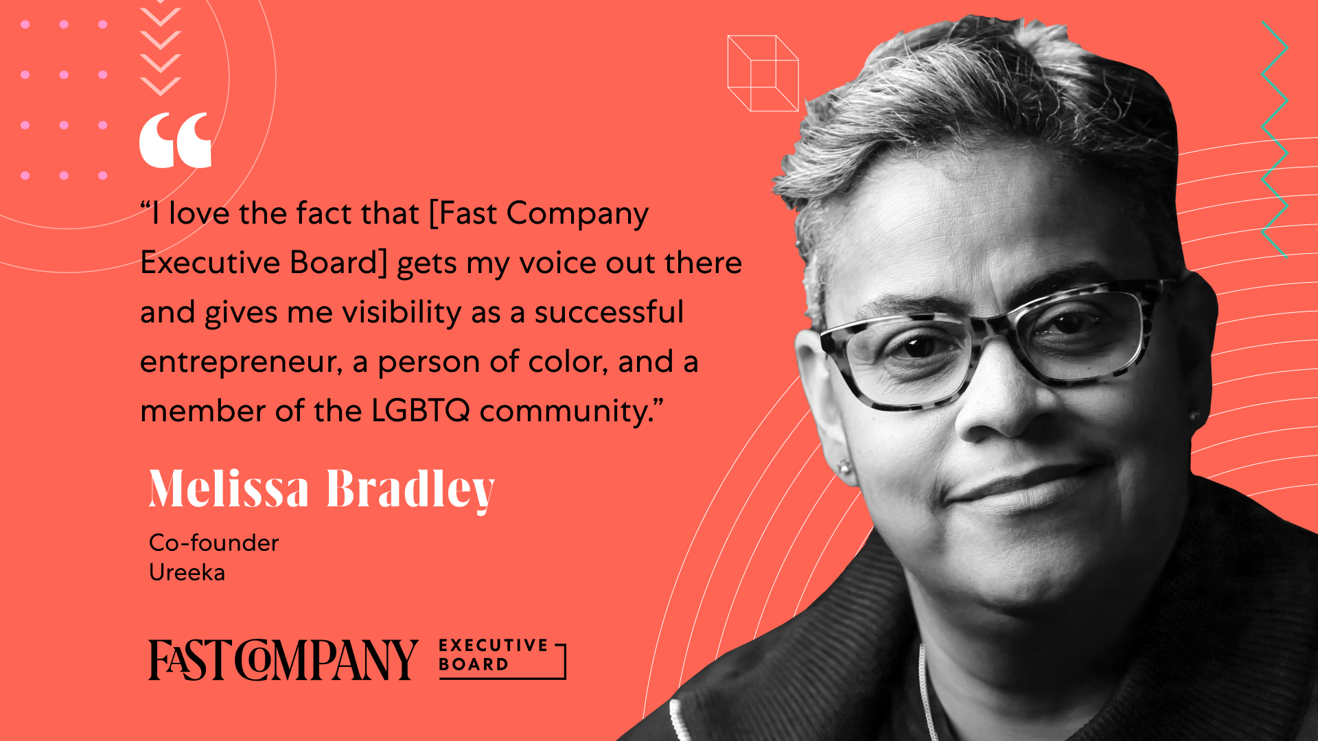 Fast Company Executive Board Helps Melissa Bradley Amplify Her Voice