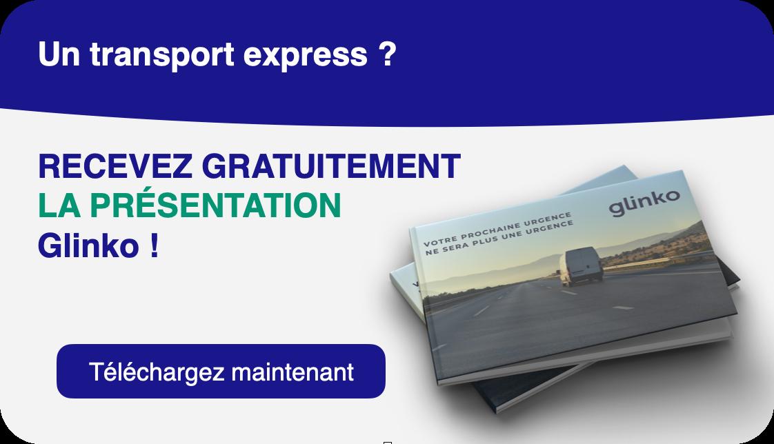 """>>><br /> Téléchargez votre présentation Glinko """"Transport urgent"""" ! <<<"""