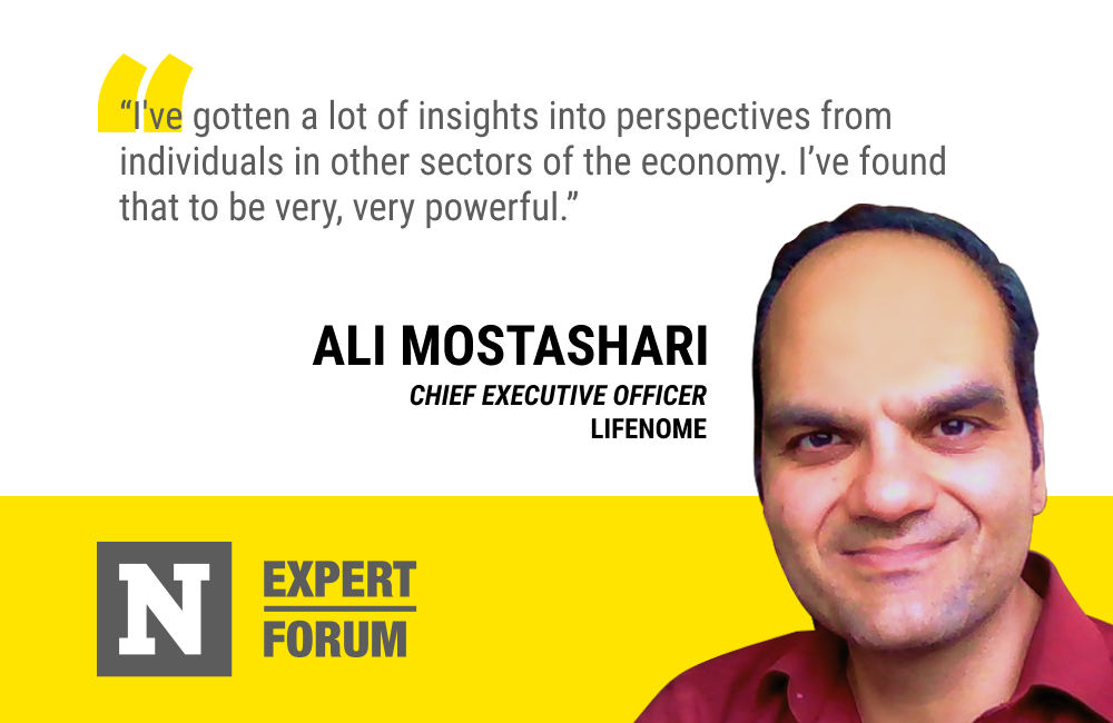 Ali Mostashari Says Newsweek Expert Forum Gives Him Valuable Insights From a Variety of Industries