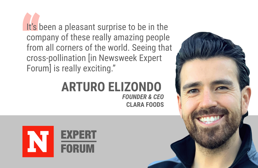 Newsweek Expert Forum Gives Arturo Elizondo a Platform For Sharing His Perspective on The Future of Food