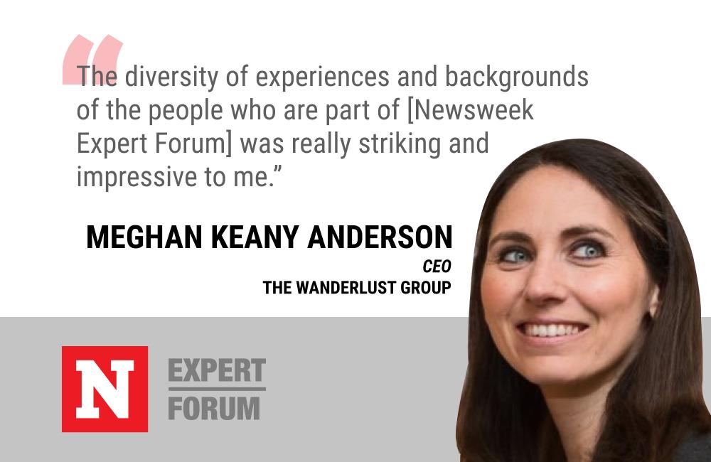 Meghan Keaney Anderson Says Newsweek Expert Forum Helps Diversify Her Network