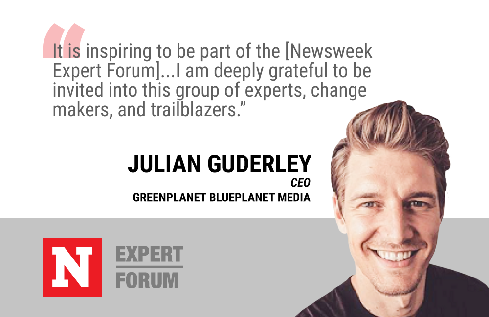 Julian Guderley Looks Forward to Sharing His Perspective on Social Impact With Newsweek Expert Forum Members