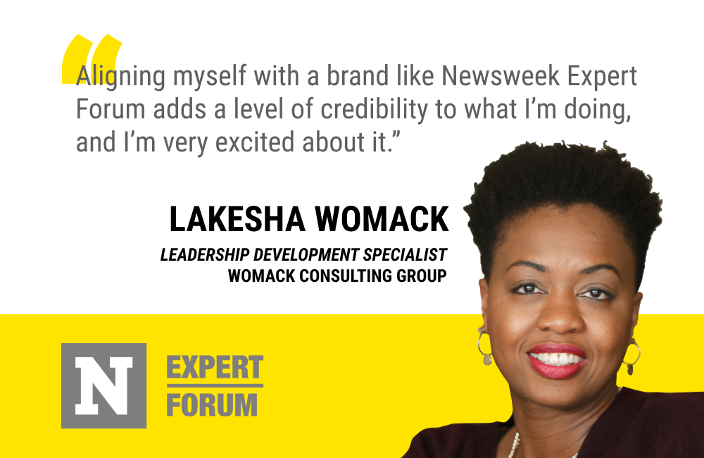 Newsweek Expert Forum Gives LaKesha Womack Added Credibility and a Way to Differentiate Her Business