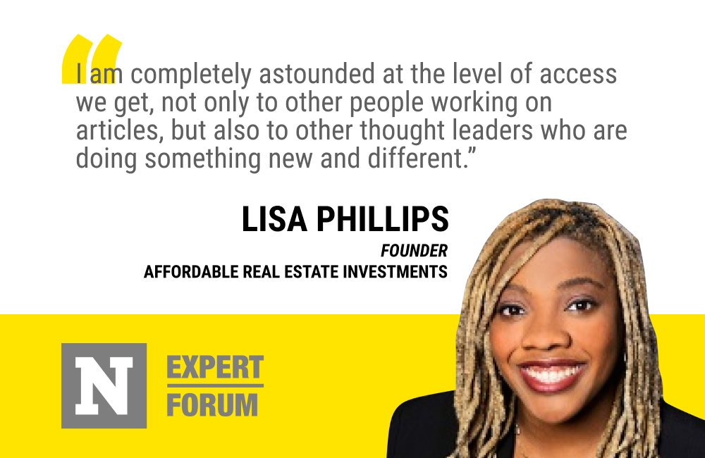 Newsweek Expert Forum Gives Lisa Phillips Access to High Caliber Thought Leaders