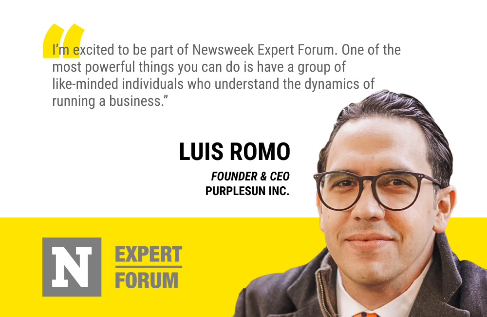 Luis Romo Says Newsweek Expert Forum Will Be a Powerful Ecosystem for Sharing Ideas